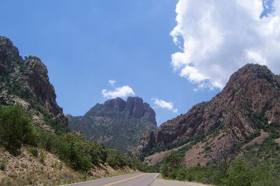 Parque Nacional Big Bend, TX: TEXAS MOUNTAINS