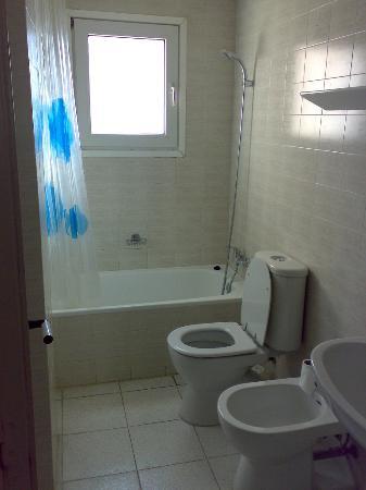 Maurici Park: Bathroom and toilet