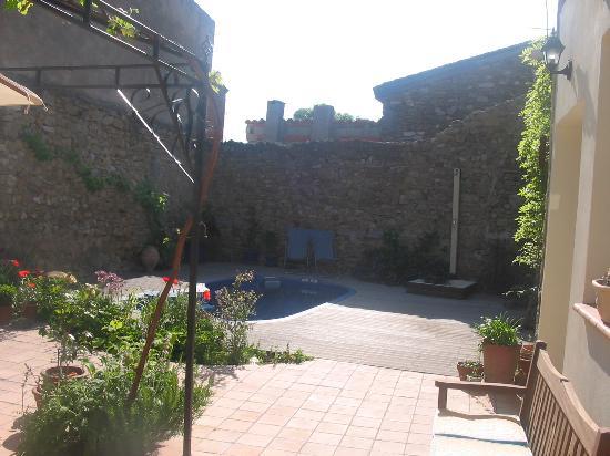 L'Ancienne Vigneronne : Pool & Courtyard