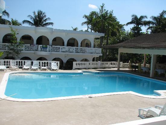 The Gardenia Resort : the pool