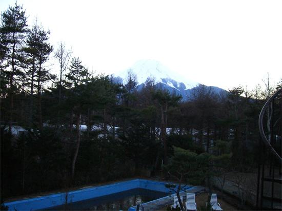 The Mt. Fuji view from one of our rooms