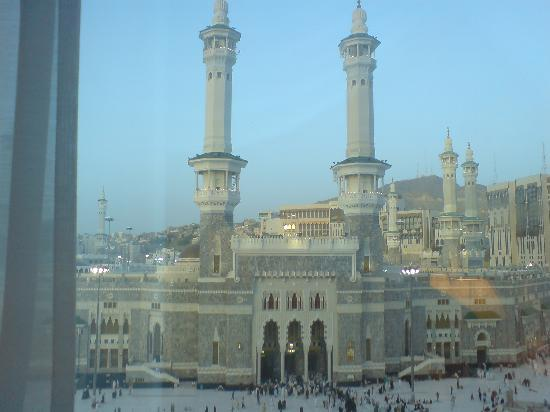 InterContinental Dar Al Tawhid: This photo's is taken from my room in the third Floor