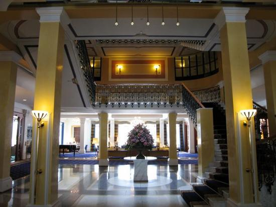 Grand Hotel Quellenhof & Spa Suites : Lobby