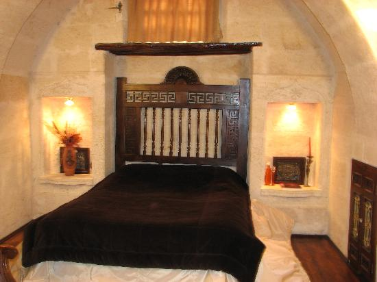 Sacred House: Our very comfortable bed