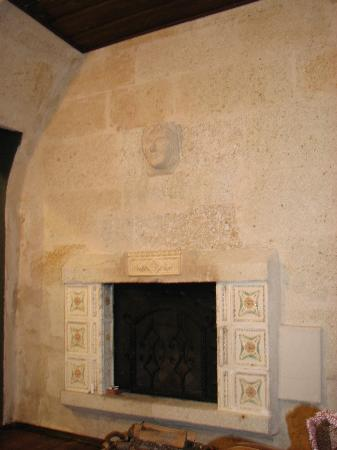 Sacred House: A real woodburning fireplace