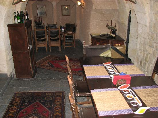 Sacred House: Dining area where a delicious breakfast is served