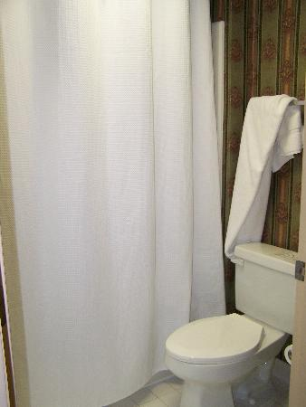 Clarion Inn: Toilet and Shower