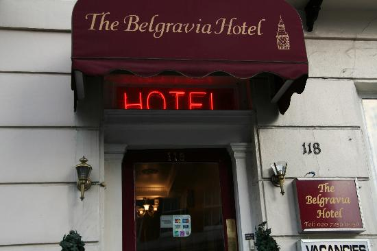 The Belgravia Hotel: website and pictograph says they accept cards