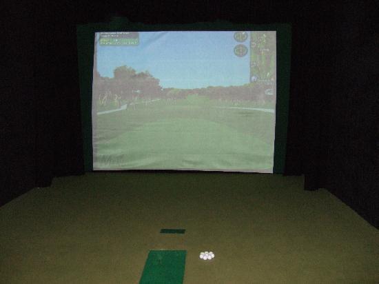 International Hotel Killarney: Golf Simulator-Higly Enjoyable