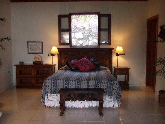 La Lancha Lodge: A bedroom at La Lancha