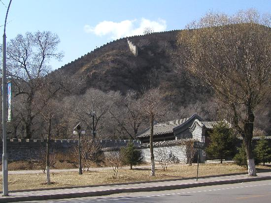 Temple of Universal Happiness (Pule si): Not the Great Wall: but the exterior of the Mountain Resort
