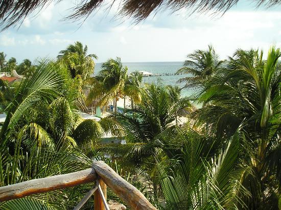 Hacienda Punta Sam: la vue de notre chambre