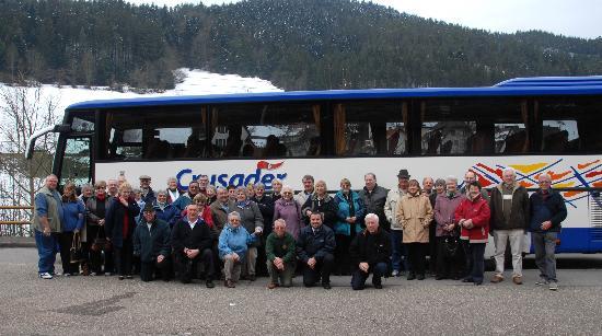 Hotel Ochsen: Our coach party