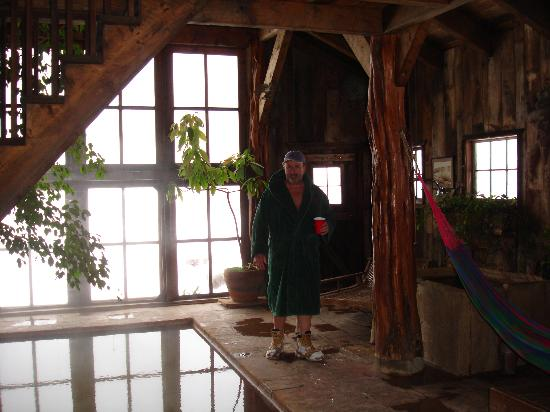 Dunton Hot Springs: Bill-indoor Hot Springs Pool