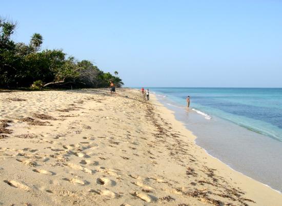 Pinar del Rio, Cuba: The beach