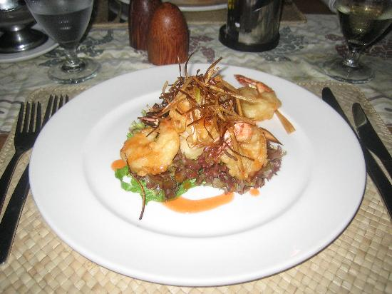 Castaway Island Fiji: Sample of the amazing food