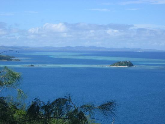 Castaway Island Fiji: One of the views from the lookout