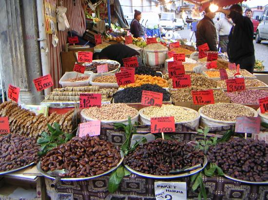 Стамбул, Турция: Wochenmarkt