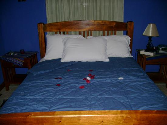 Coco Plum Island Resort: our bed