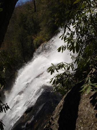 Horsepasture River and Nature Trails: Side of Rainbow Falls