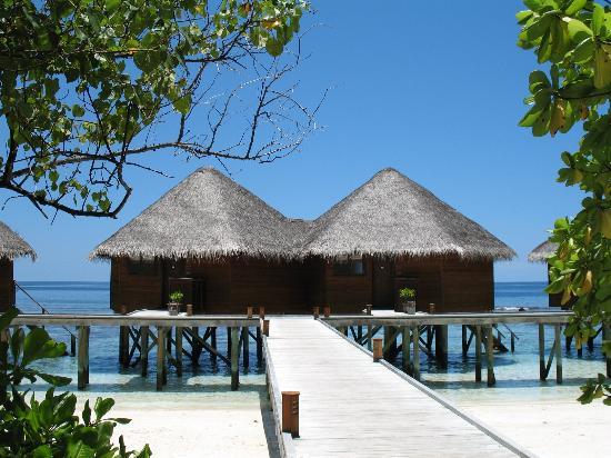 Mirihi Island Resort: The 'straight line' villas