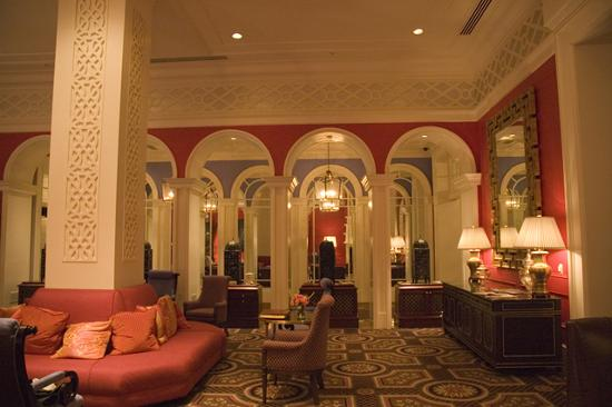 Kimpton Hotel Monaco Portland: reception lounge