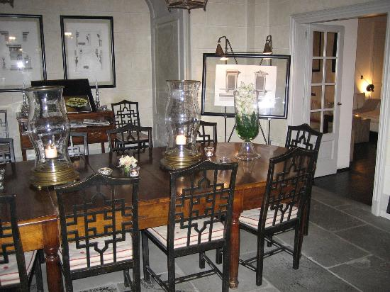 JK Place Firenze : The dining room.