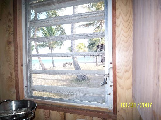 Cottages By The Sea: View from our kitchen window