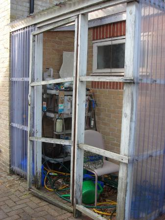Northwold, UK: Disused Chemical Store