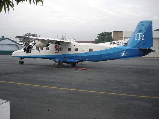 El Nido Resorts Lagen Island: Airplane from Manila to El Nido