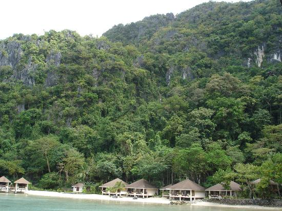 El Nido Resorts Lagen Island: Resort/rainforest