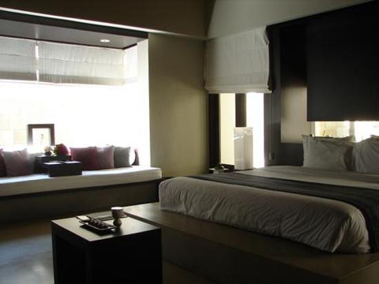 The Bale: interior villa