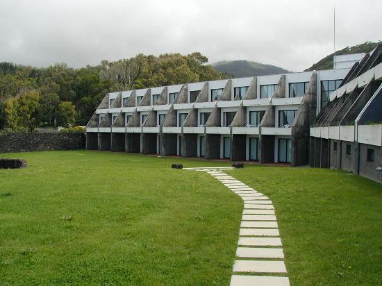 Caloura Hotel Resort: Rooms on the quiet side of Caloura