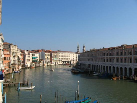 Foscari Palace: View from balcony-Suite 209