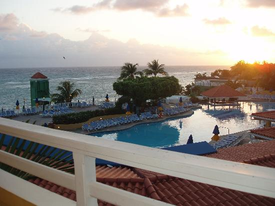 Beaches Ocho Rios Resort & Golf Club: view from our room