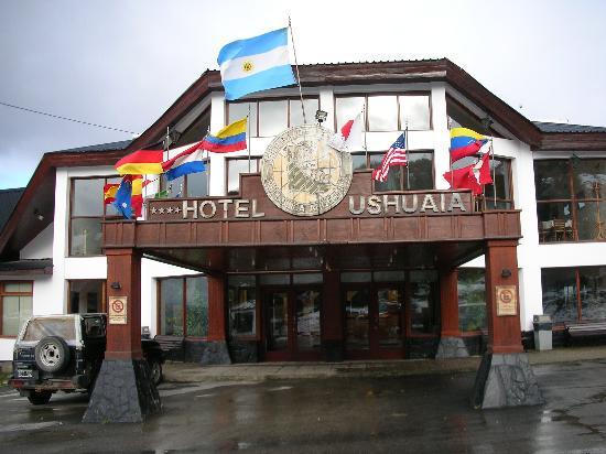 Hotel Ushuaia: entrance
