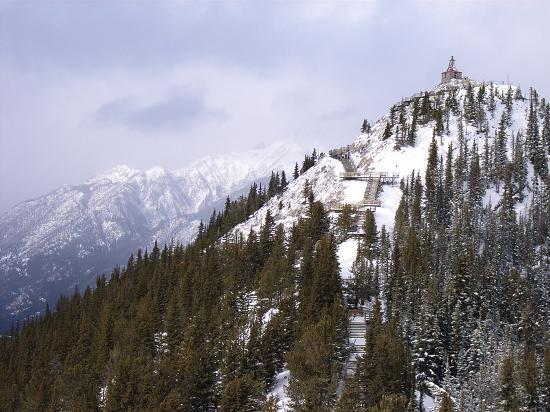 Μπανφ, Καναδάς: A view from the top of the Banff Gondola