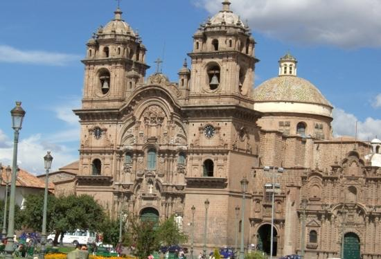 Royal Inka II: Catherdral at the Plaza de Armas - five minutes walk to hotel