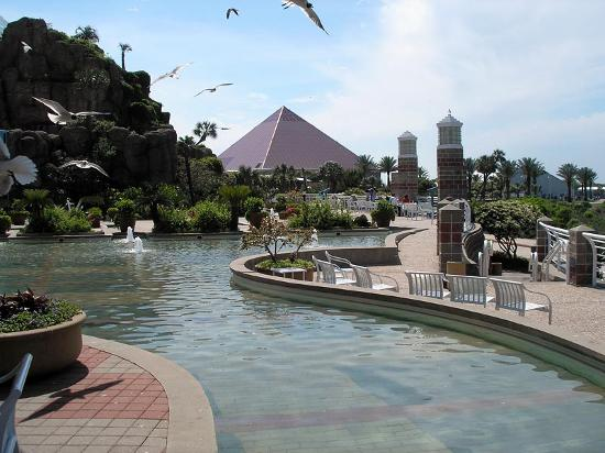 Grounds at Moody Gardens Hotel - Picture of Moody Gardens ...