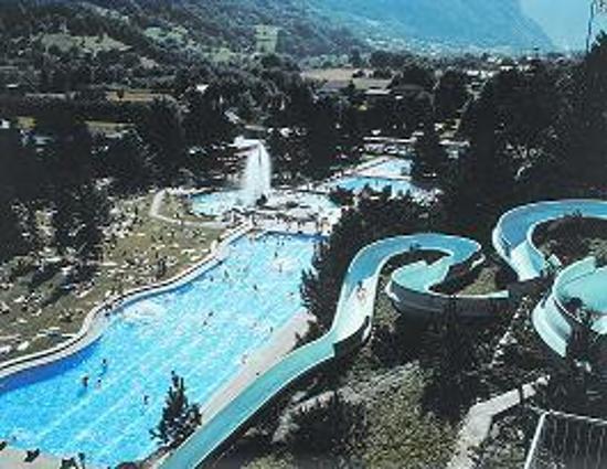 Thermalquellen Brigerbad: The loooonnggg slide.