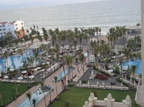 Hotel Riu Vallarta: View from our room