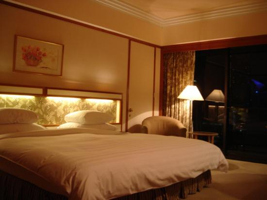Pan Pacific Singapore: Very comfortable bed