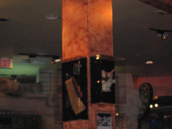 movie memorabilia - Picture of Planet Hollywood, Orlando ...