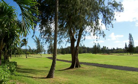 Estates at Turtle Bay: Picture out the Lanai