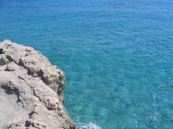 wonderful sea in Roca, Lecce