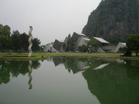 Club Med Guilin: Inside the art park at Yuzi Paradise