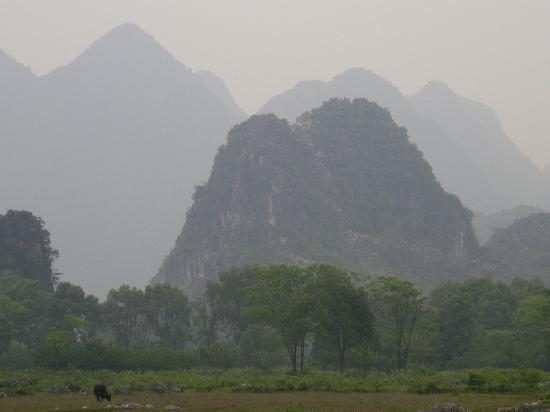 Club Med Guilin: Scenery at the more remote area of the park near the hotel