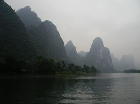 Club Med Guilin: Scenery from our cruise of the Li River