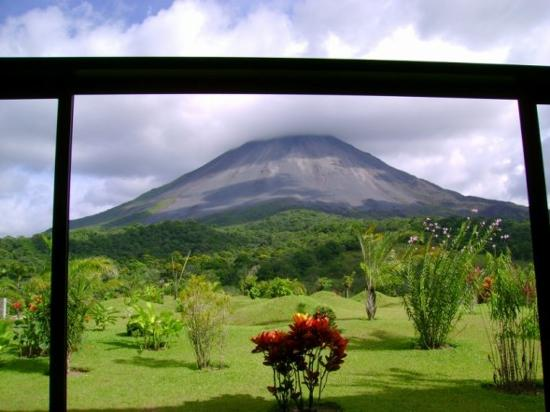 Arenal Kioro Suites & Spa: View from room #101