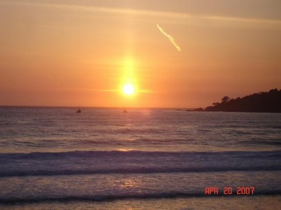 Beautiful Sunset in Carmel Beach